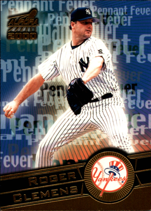 2000 Aurora Pennant Fever National Convention #12 Roger Clemens