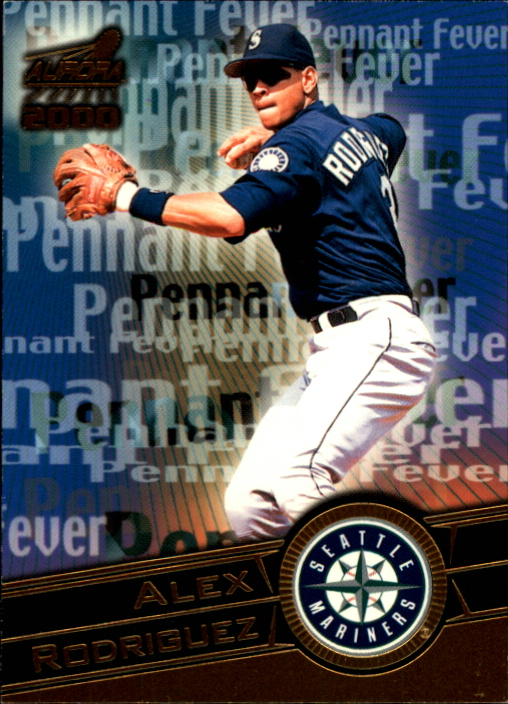 2000 Aurora Pennant Fever National Convention #18 Alex Rodriguez