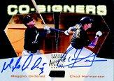 2000 Stadium Club Co-Signers #CO11 Magglio Ordonez/Chad Hermansen C