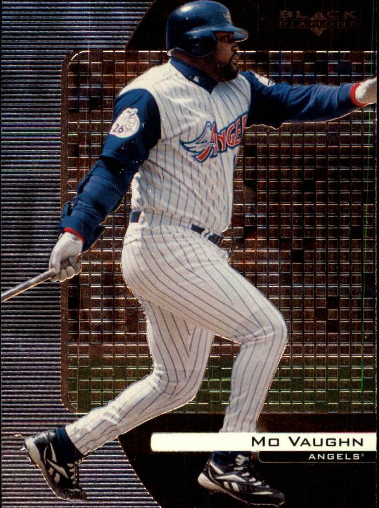 2000 Black Diamond #3 Mo Vaughn