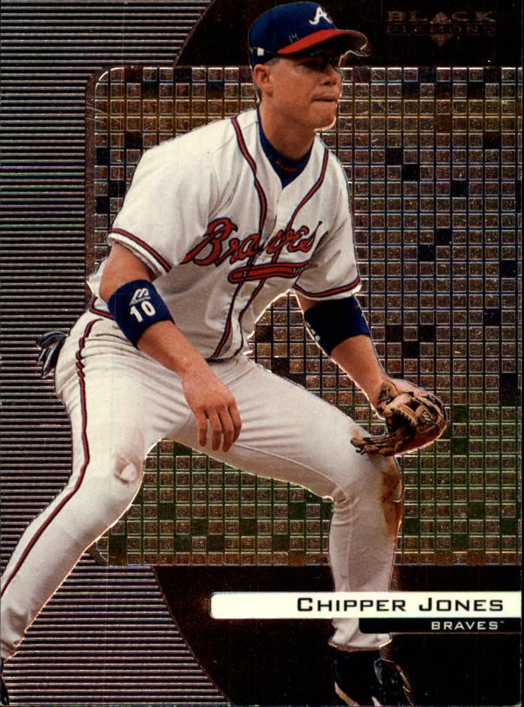 2000 Black Diamond #8 Chipper Jones