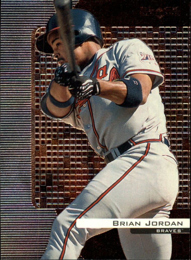 2000 Black Diamond #11 Brian Jordan