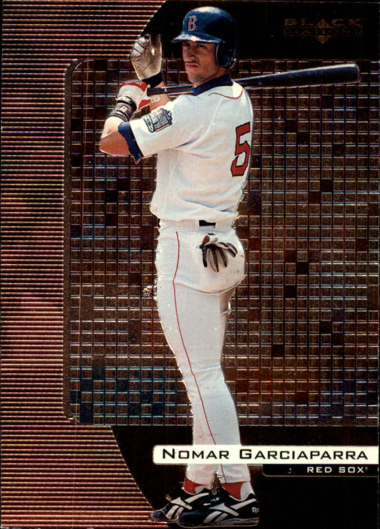 2000 Black Diamond #15 Nomar Garciaparra