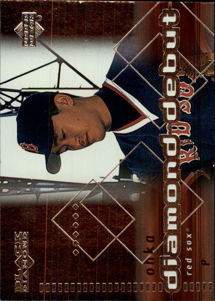 2000 Black Diamond #119 Tomo Ohka DD RC
