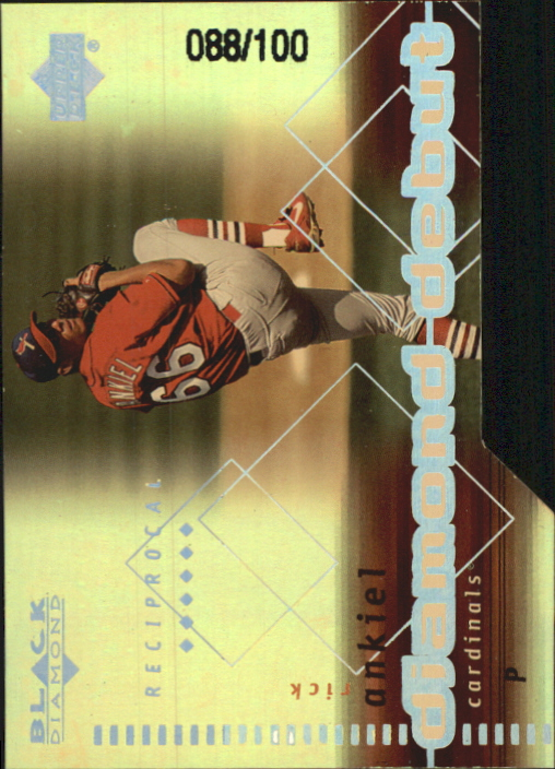 2000 Black Diamond Final Cut #94 Rick Ankiel DD