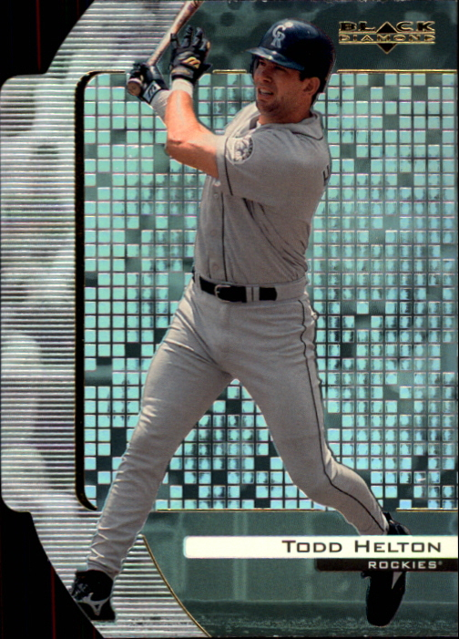 2000 Black Diamond Reciprocal Cut #30 Todd Helton