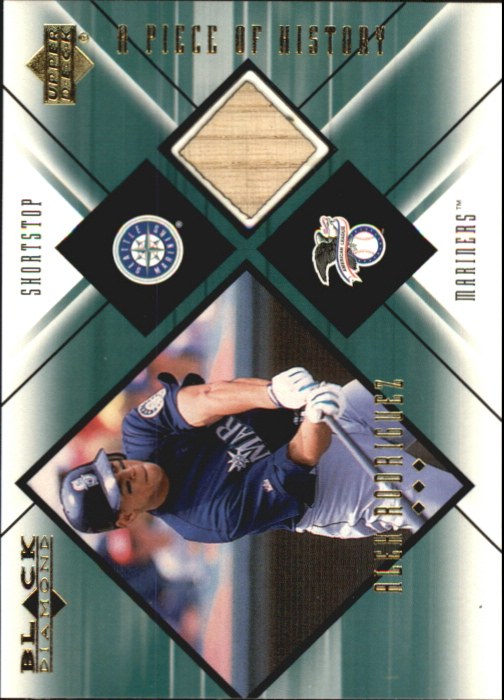 2000 Black Diamond A Piece of History #AR Alex Rodriguez