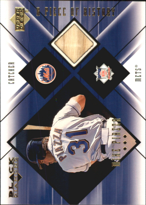 2000 Black Diamond A Piece of History #MP Mike Piazza