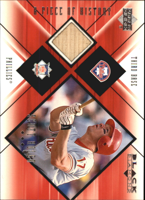 2000 Black Diamond A Piece of History #SR Scott Rolen