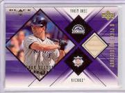 2000 Black Diamond A Piece of History #TH Todd Helton