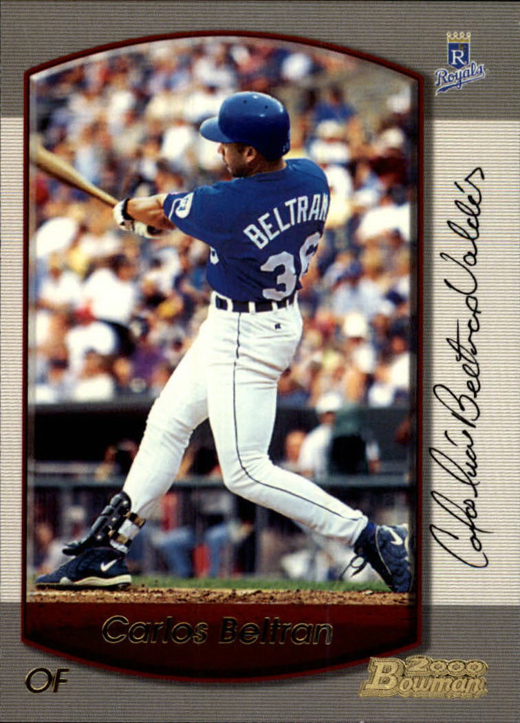 2000 Bowman #106 Carlos Beltran