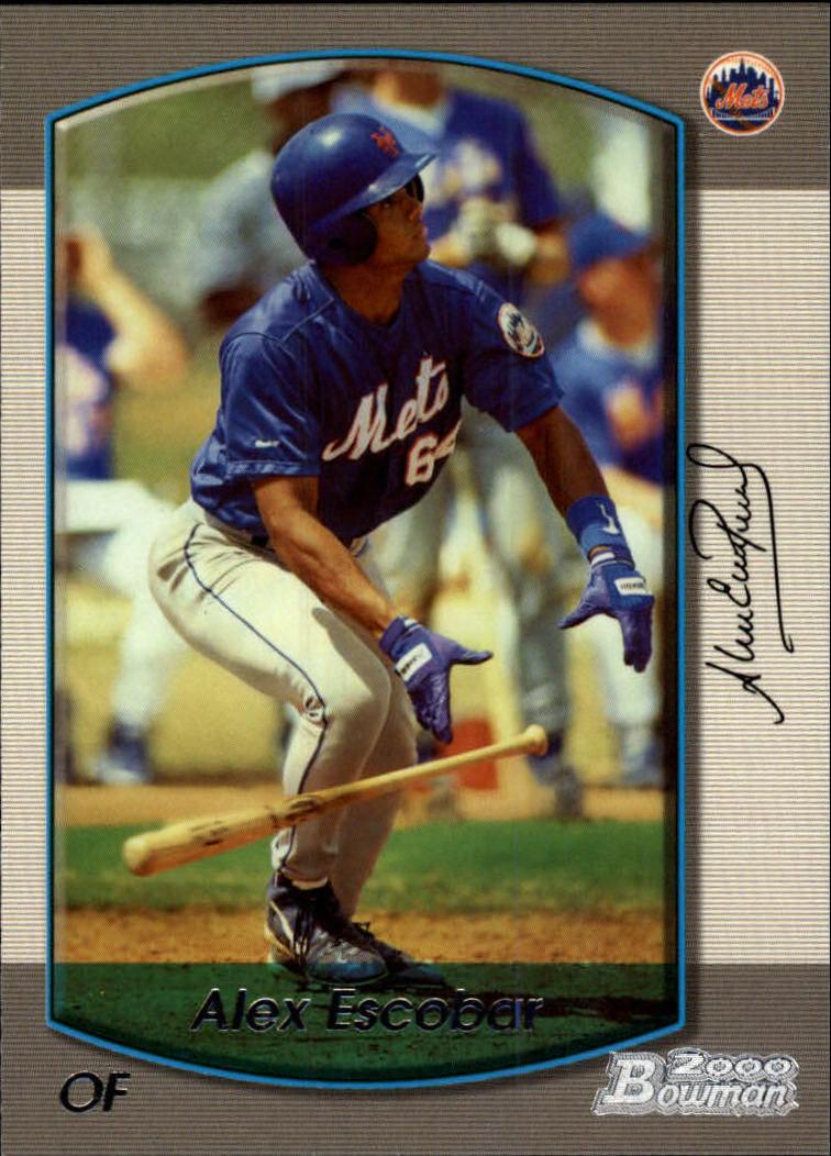 2000 Bowman #326 Alex Escobar