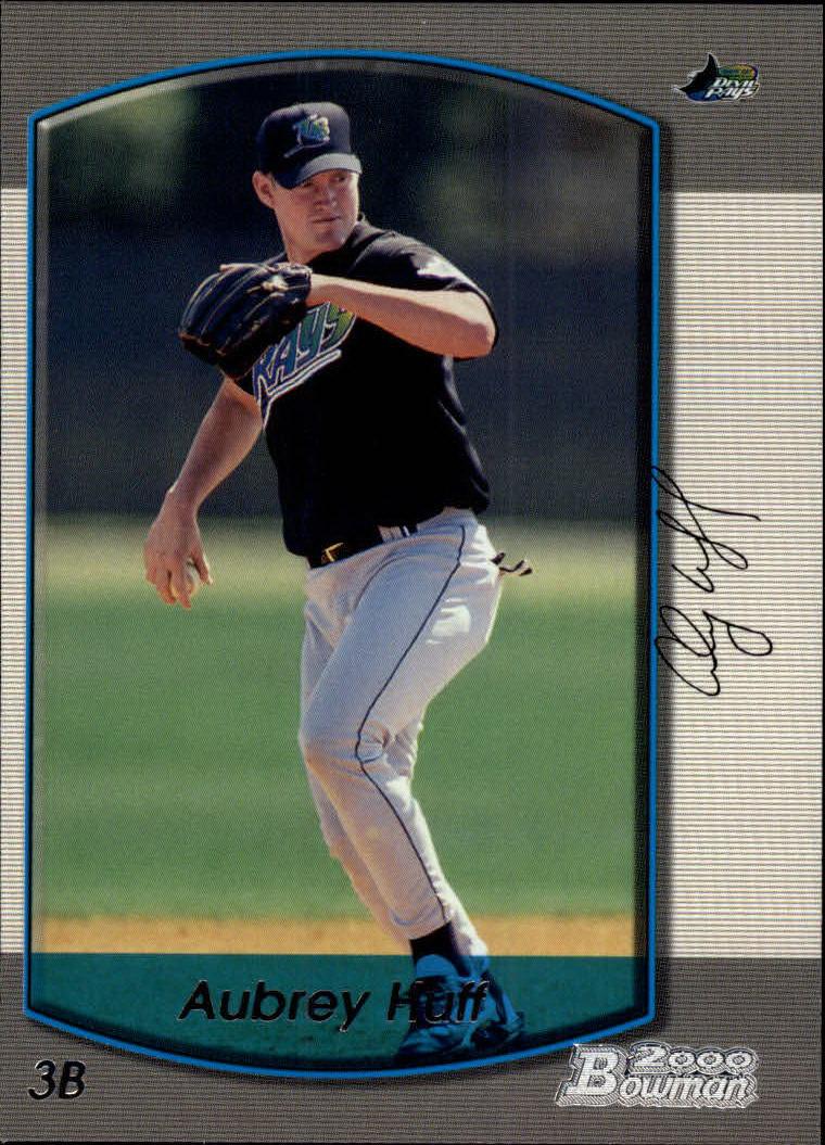 2000 Bowman #337 Aubrey Huff