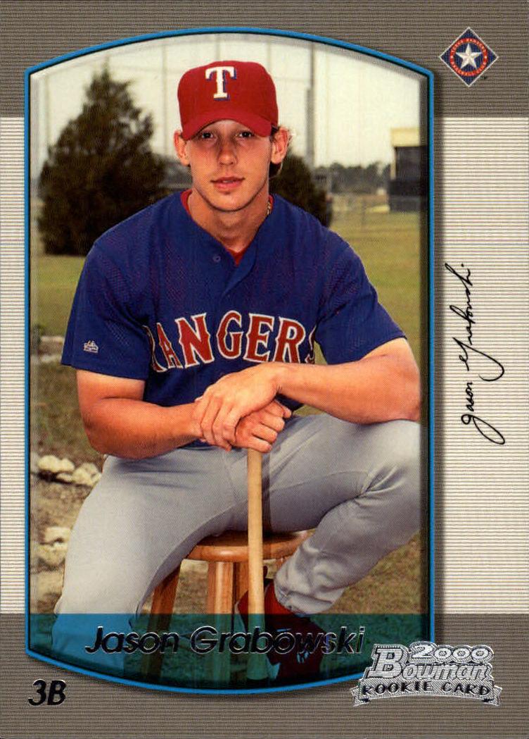 2000 Bowman #339 Jason Grabowski RC