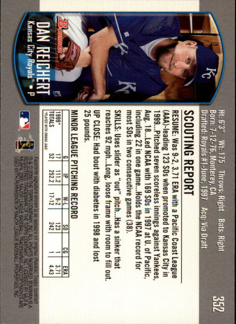 2000-Bowman-Baseball-Cards-347-440-Pick-From-List thumbnail 5