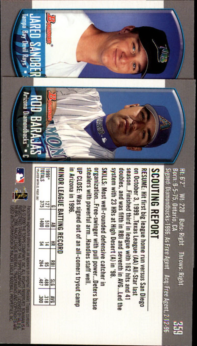 2000-Bowman-Baseball-Cards-347-440-Pick-From-List thumbnail 7