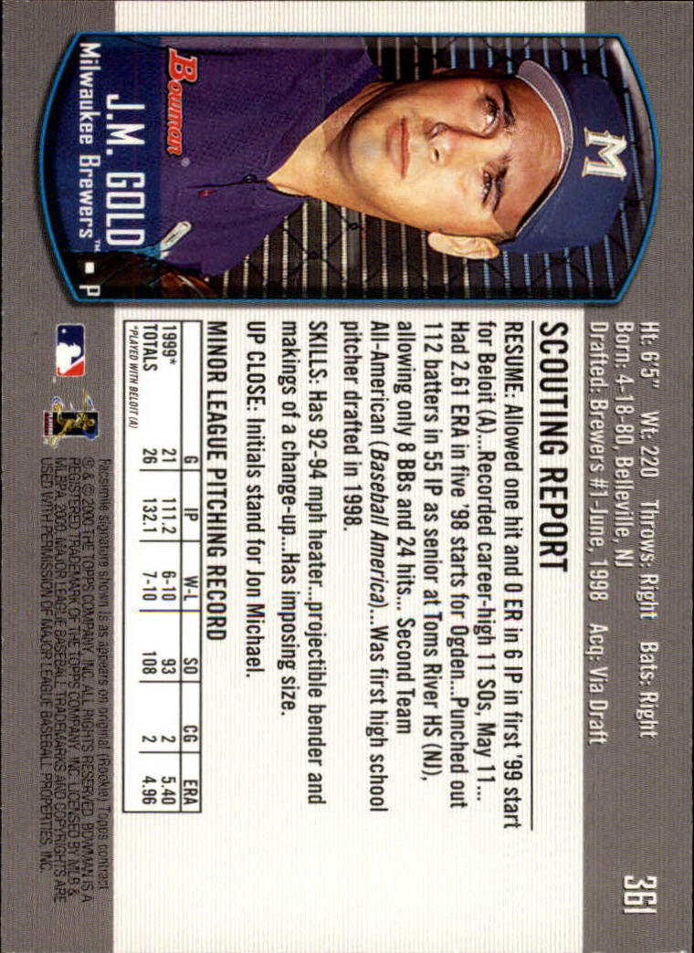 2000-Bowman-Baseball-Cards-347-440-Pick-From-List thumbnail 11