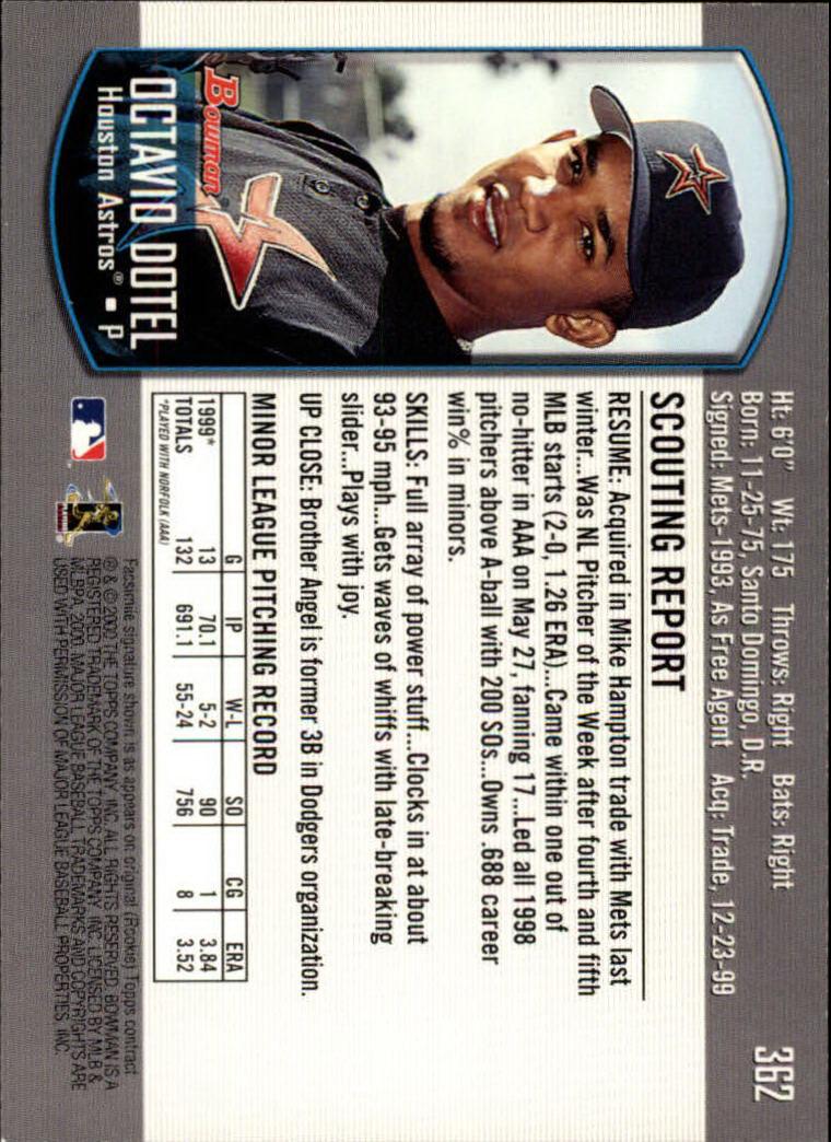2000-Bowman-Baseball-Cards-347-440-Pick-From-List thumbnail 13