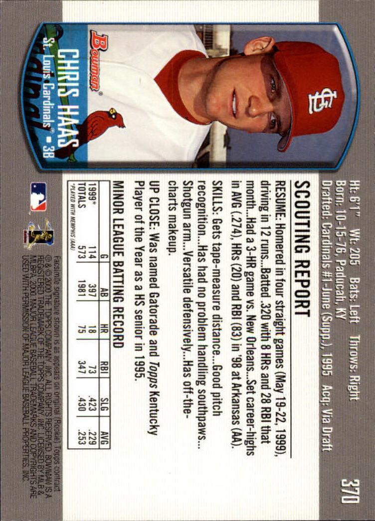 2000-Bowman-Baseball-Cards-347-440-Pick-From-List thumbnail 29