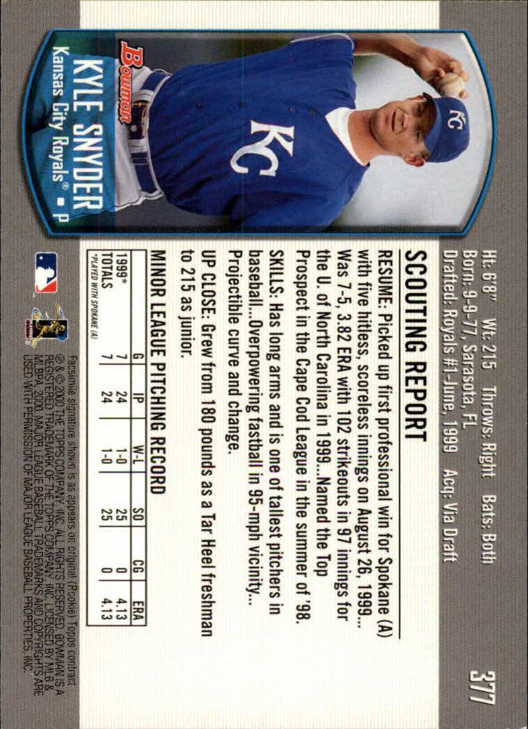 2000-Bowman-Baseball-Cards-347-440-Pick-From-List thumbnail 37