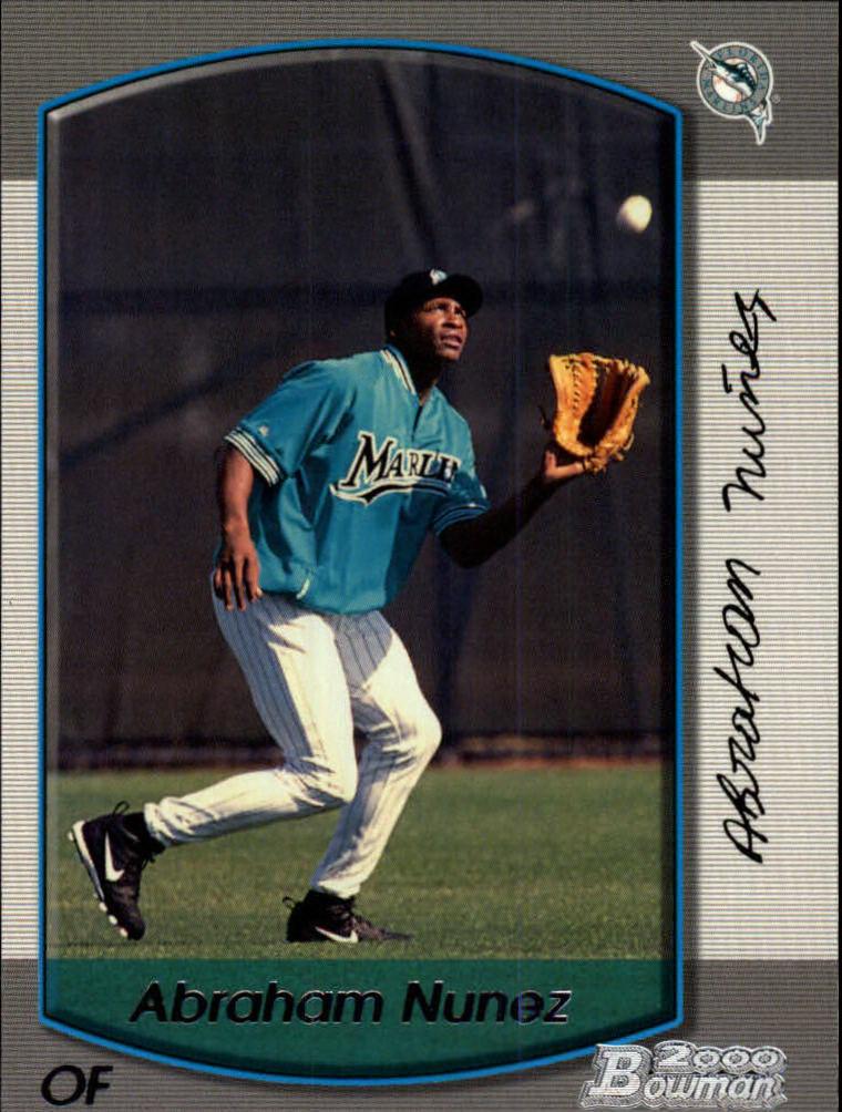 2000 Bowman #382 Abraham Nunez