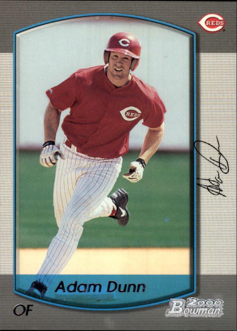 2000 Bowman #385 Adam Dunn
