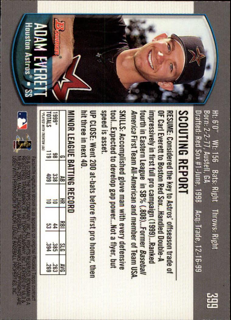 2000-Bowman-Baseball-Cards-347-440-Pick-From-List thumbnail 55