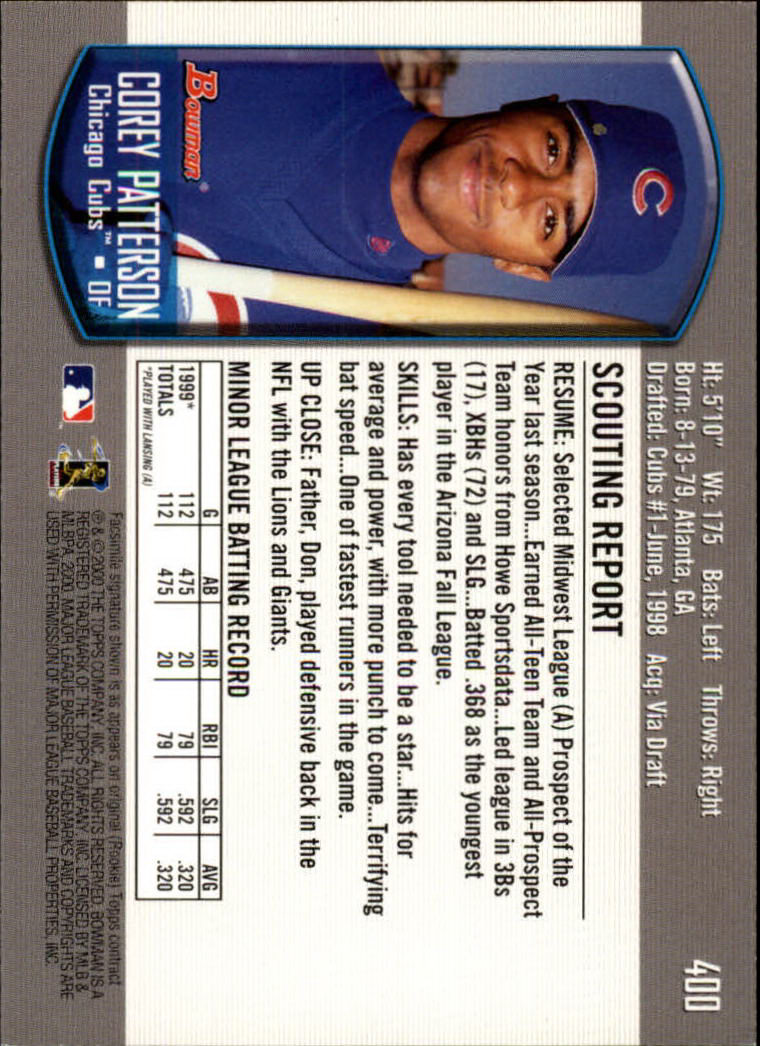 2000-Bowman-Baseball-Cards-347-440-Pick-From-List thumbnail 57