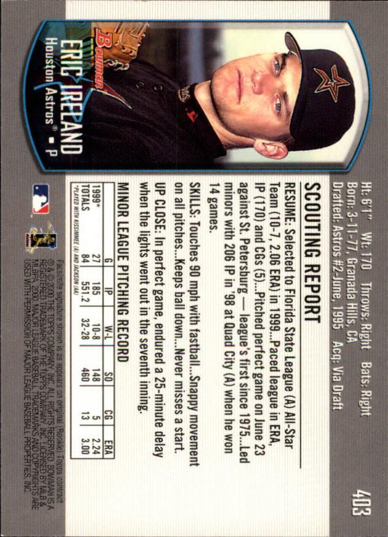 2000-Bowman-Baseball-Cards-347-440-Pick-From-List thumbnail 59