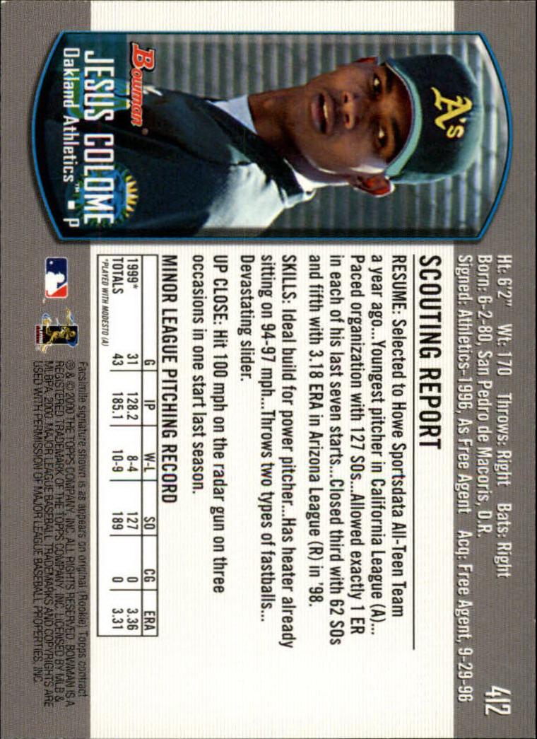 2000-Bowman-Baseball-Cards-347-440-Pick-From-List thumbnail 73
