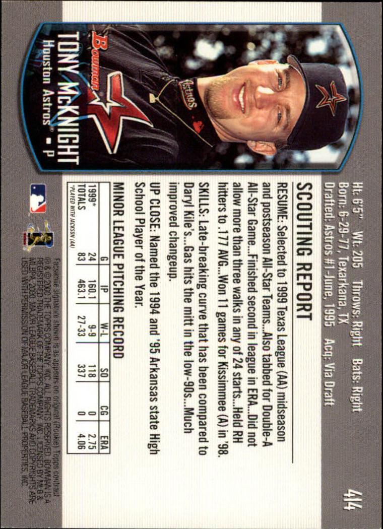 2000-Bowman-Baseball-Cards-347-440-Pick-From-List thumbnail 75
