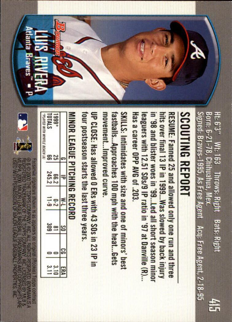 2000-Bowman-Baseball-Cards-347-440-Pick-From-List thumbnail 77