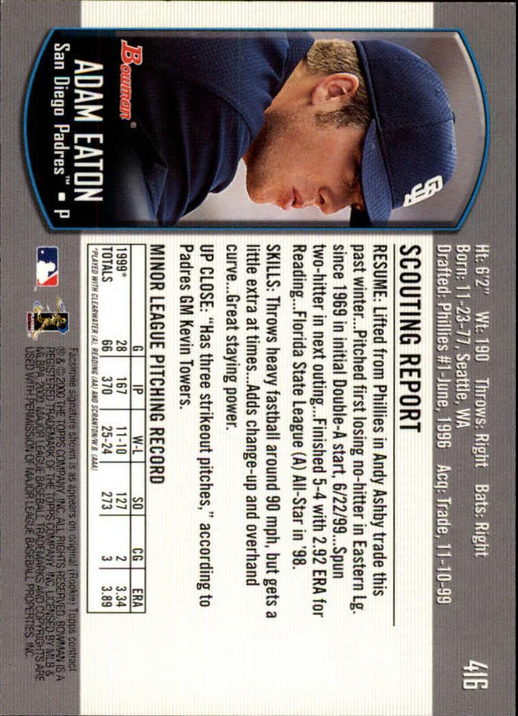 2000-Bowman-Baseball-Cards-347-440-Pick-From-List thumbnail 79