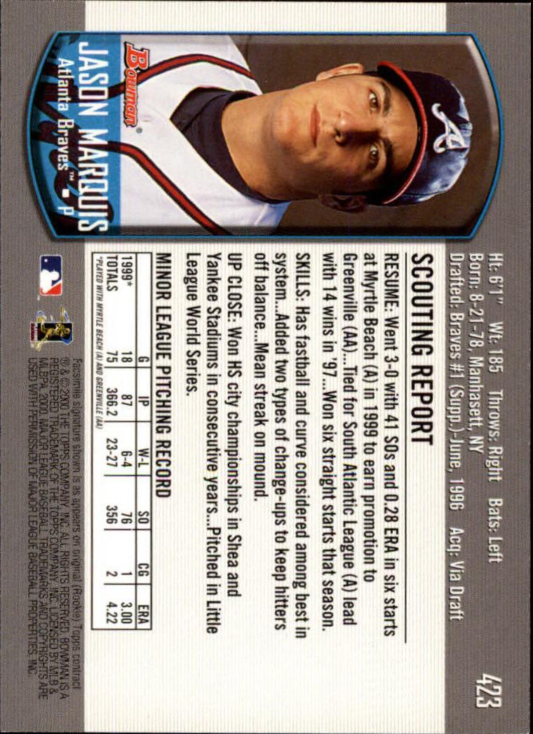 2000-Bowman-Baseball-Cards-347-440-Pick-From-List thumbnail 83