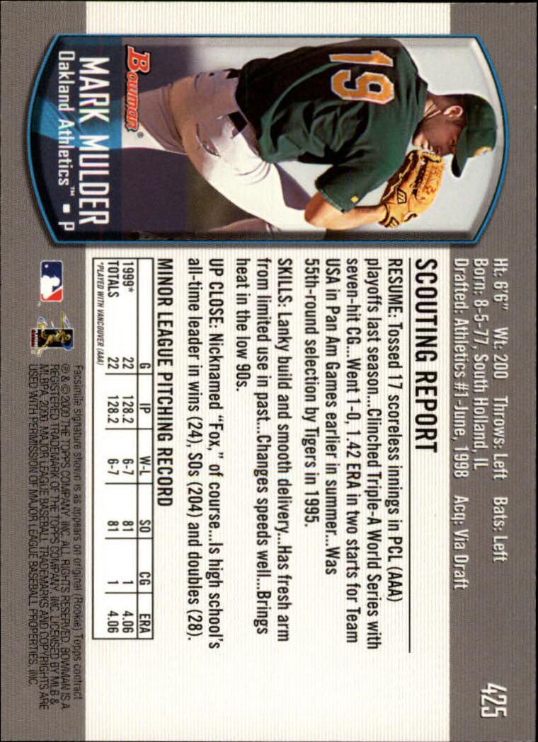 2000-Bowman-Baseball-Cards-347-440-Pick-From-List thumbnail 85