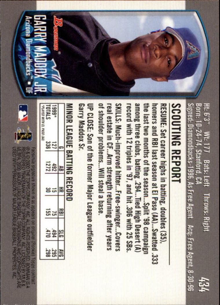 2000-Bowman-Baseball-Cards-347-440-Pick-From-List thumbnail 95