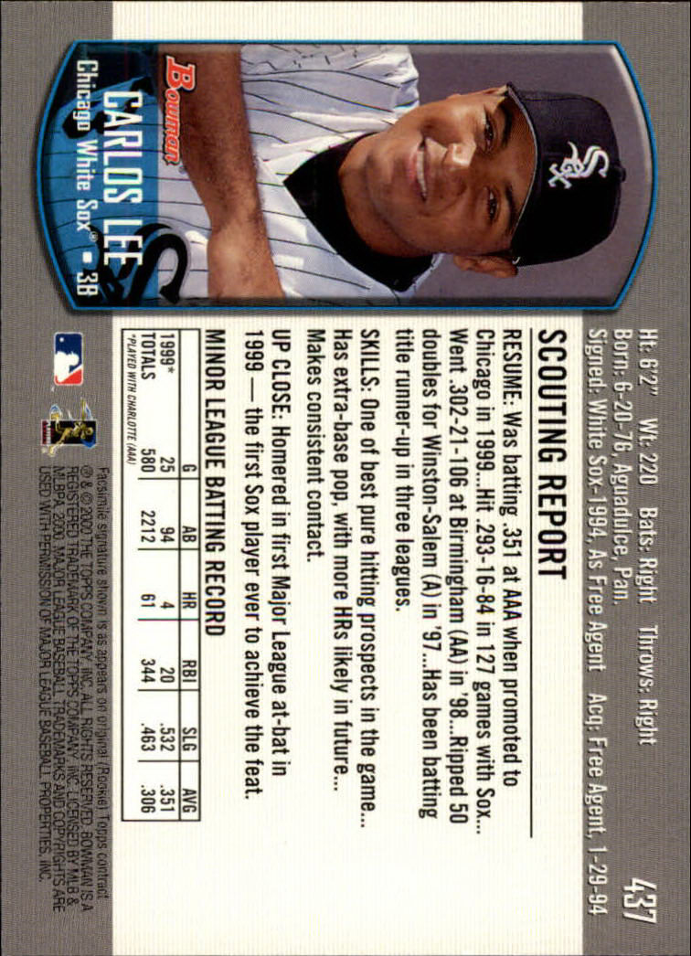 2000-Bowman-Baseball-Cards-347-440-Pick-From-List thumbnail 99