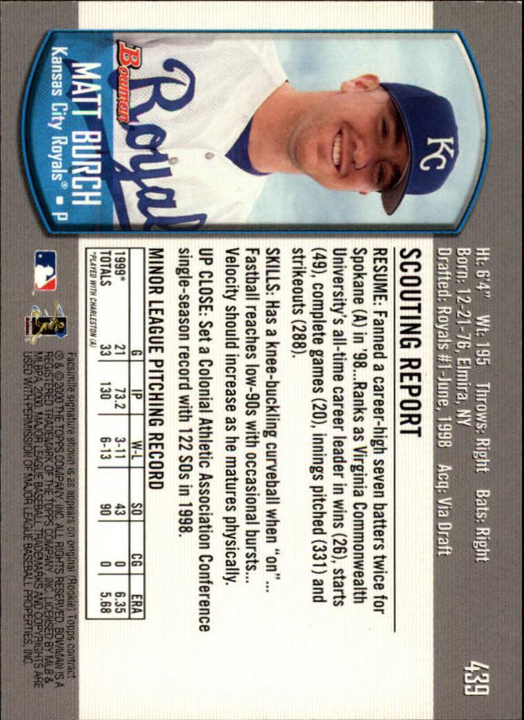 2000-Bowman-Baseball-Cards-347-440-Pick-From-List thumbnail 101