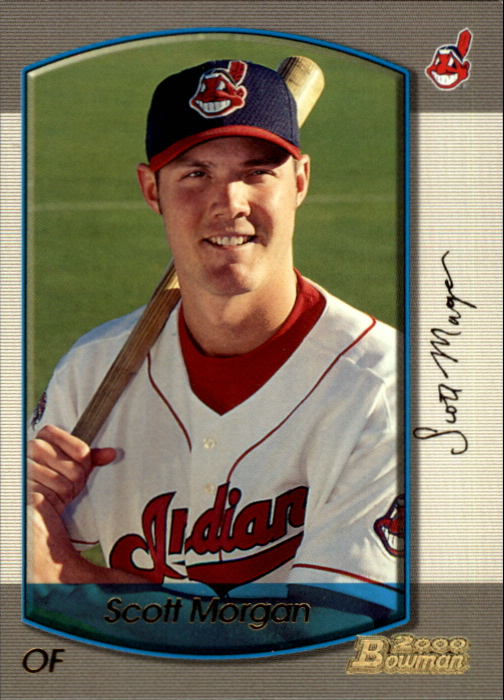 2000 Bowman Gold #364 Scott Morgan