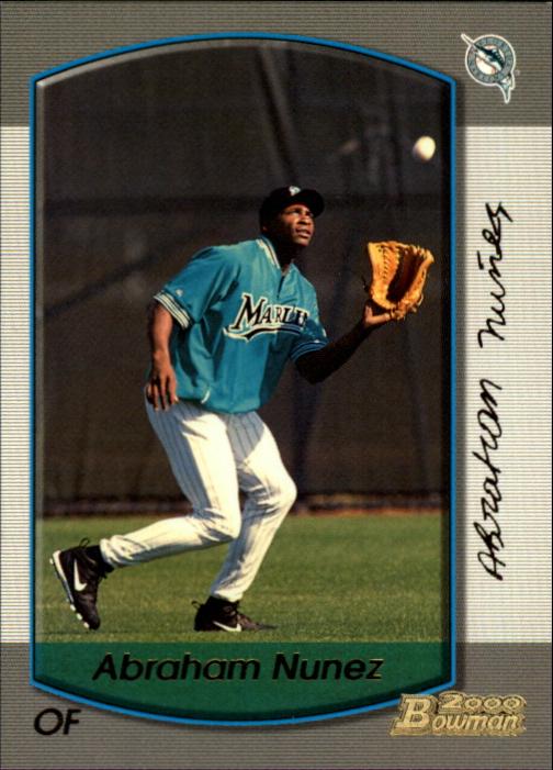 2000 Bowman Gold #382 Abraham Nunez