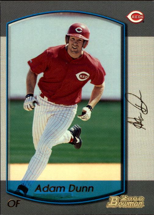 2000 Bowman Gold #385 Adam Dunn