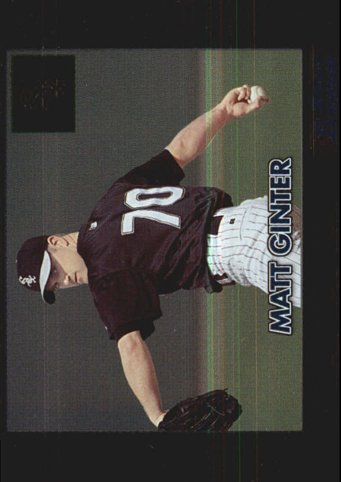2000 Bowman Retro/Future #153 Matt Ginter