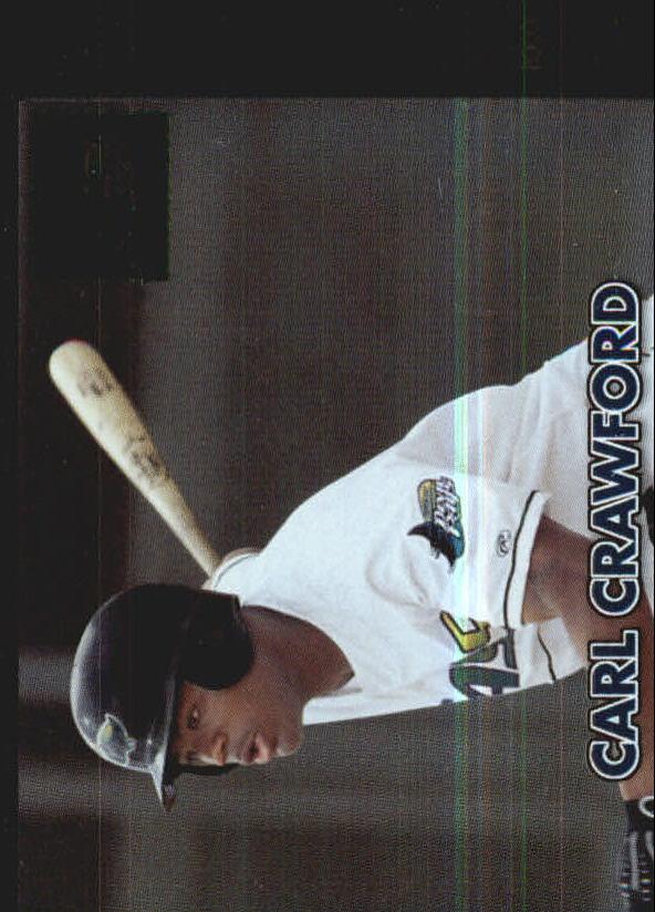 2000 Bowman Retro/Future #199 Carl Crawford