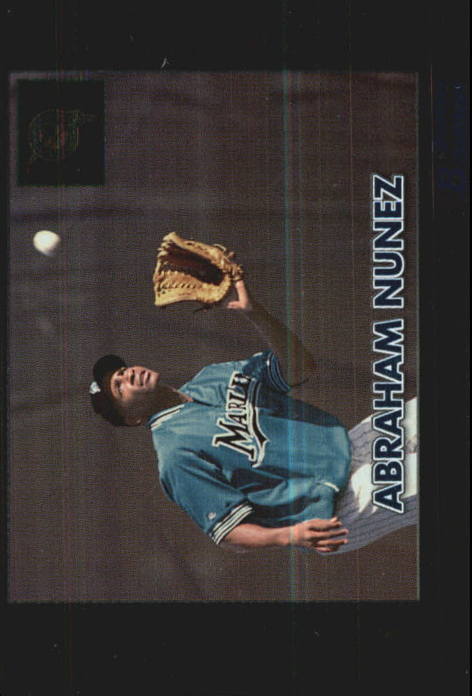 2000 Bowman Retro/Future #382 Abraham Nunez