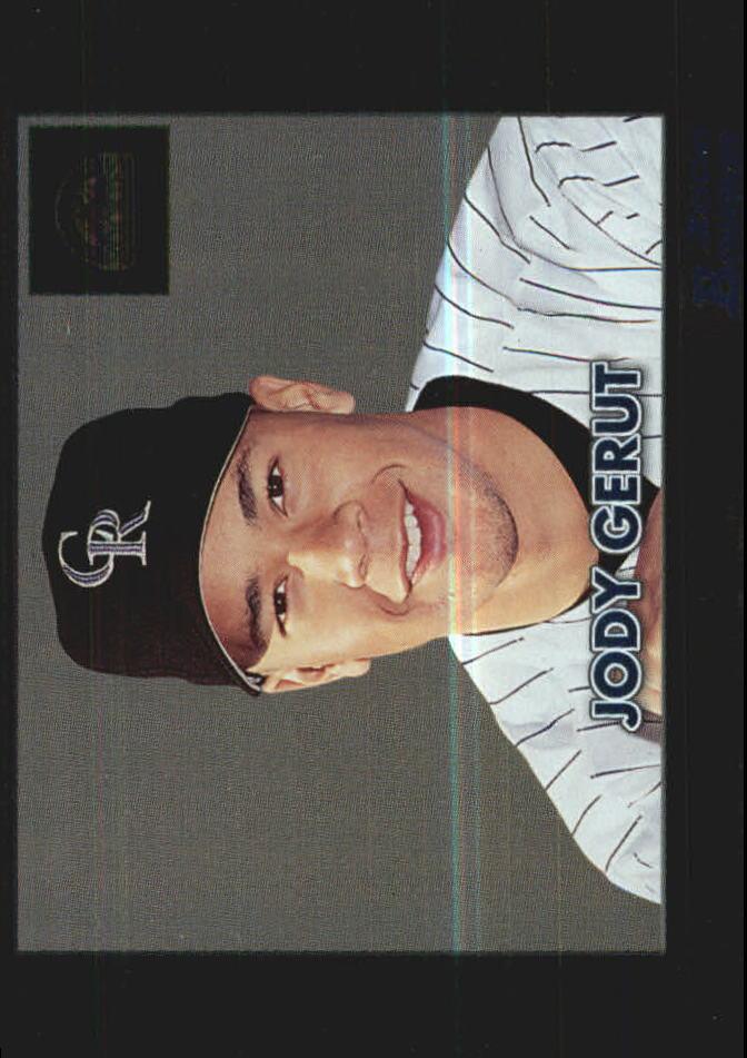 2000 Bowman Retro/Future #384 Jody Gerut