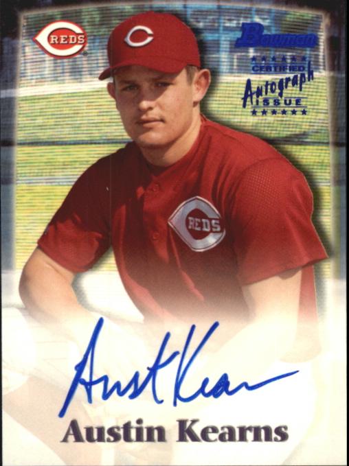 2000 Bowman Autographs #AK Austin Kearns B