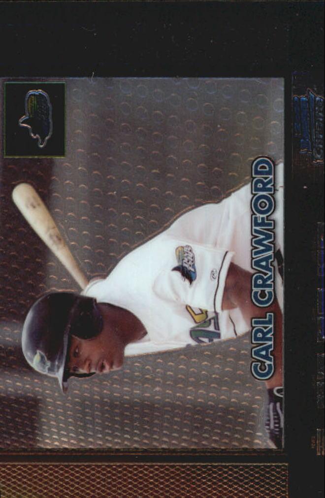 2000 Bowman Chrome Retro/Future #199 Carl Crawford