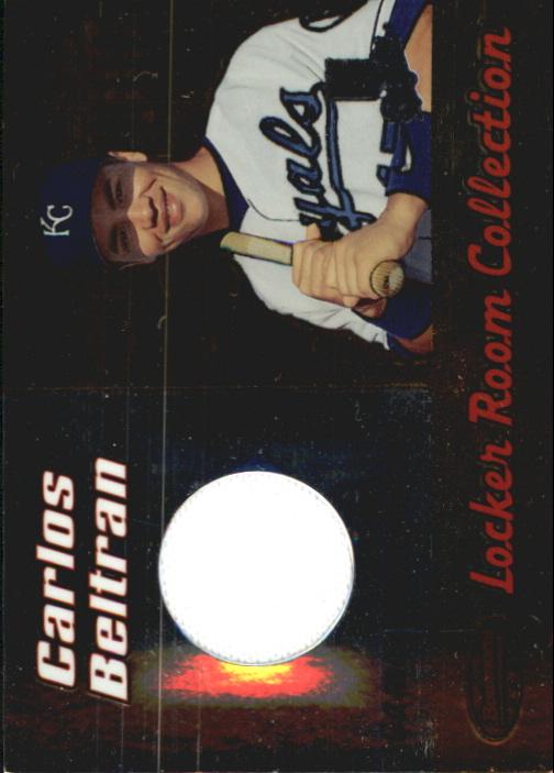 2000 Bowman's Best Locker Room Collection Jerseys #LRCJ1 Carlos Beltran