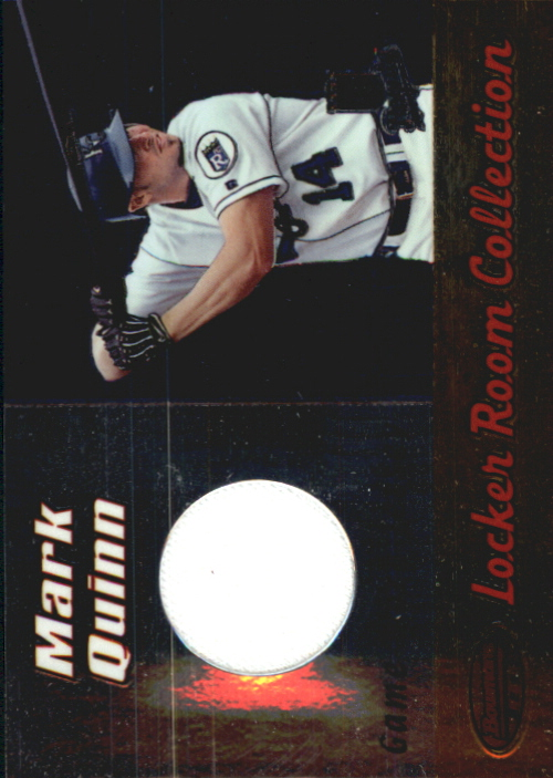2000 Bowman's Best Locker Room Collection Jerseys #LRCJ3 Mark Quinn