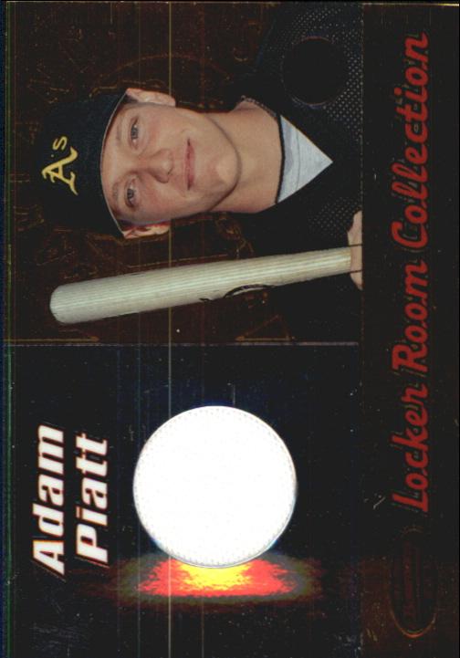 2000 Bowman's Best Locker Room Collection Jerseys #LRCJ5 Adam Piatt
